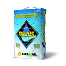 Гелевая Водонепроницаемая Мембрана для гидроизоляции 20 кг Арт. 14580 NanoFLEX No Limits Kerakoll