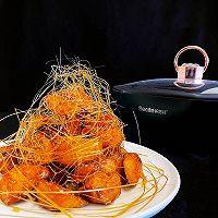 超好吃拔丝地瓜~酥脆和软糯可以兼得的做法图解11