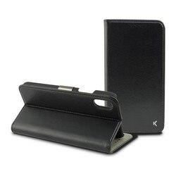 Folio etui na telefon Iphone Xr czarne na