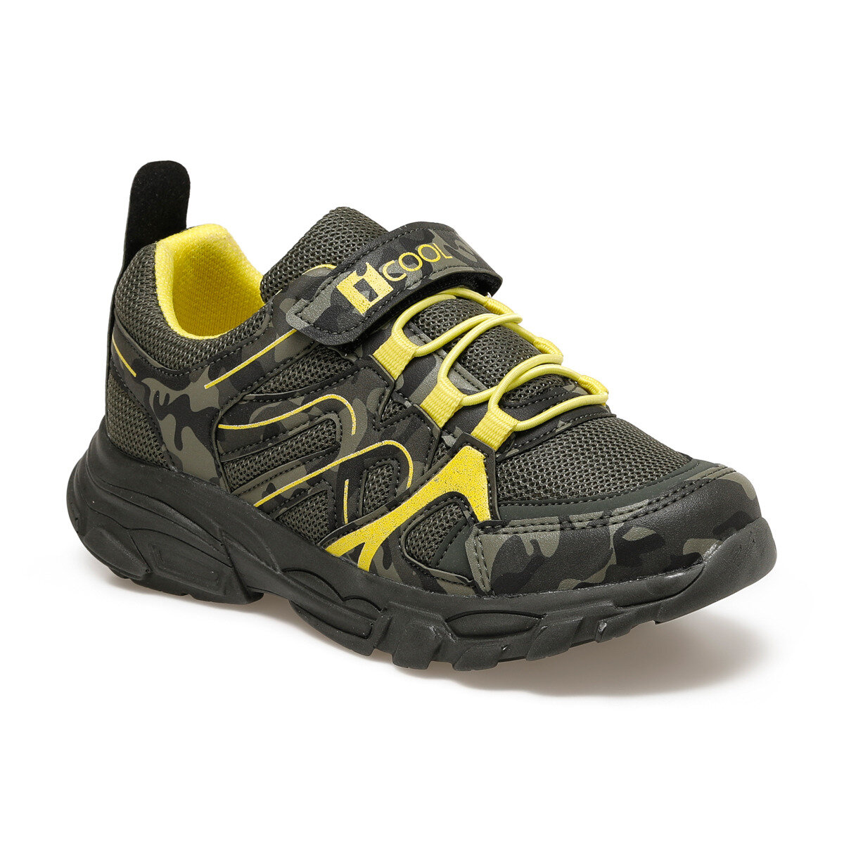 FLO HUGO Camouflage Color Male Child Hiking Shoes I-Cool