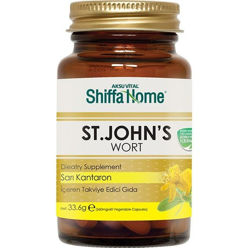 Shıffa Home St. John's Wort Capsule 33.6 Gr E