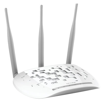Dot Access WiFi TP Wa901nd Indoor 450 MB 3 Antennas 4dbi Detachable Poe Passive