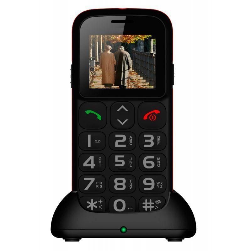 Téléphone portable avec touches gros bouton SOS double SIM SENIOR MP-SP105