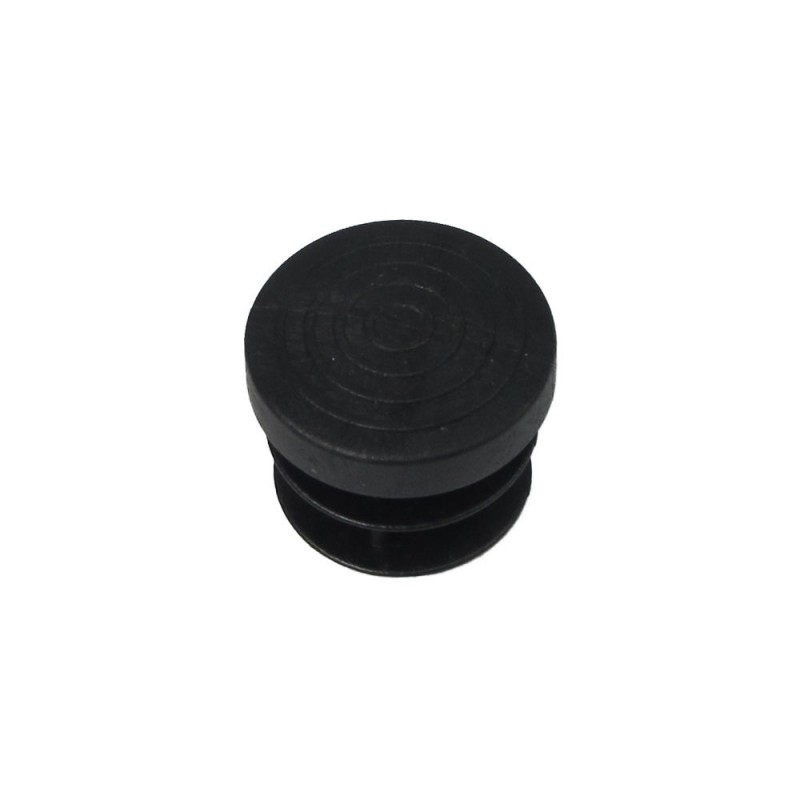 Cone Round Black 20mm. Blister 4 PCs.