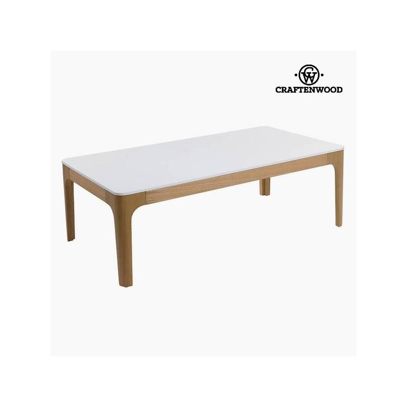 Mdf Coffee Table White (120x65x42 Cm) By Craftenwood