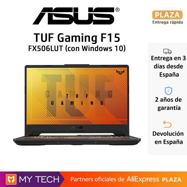 Portátil ASUS TUF Gaming F15, con o sin Windows| Portátil VivoBookFlip 14 TP412FA-EC707T