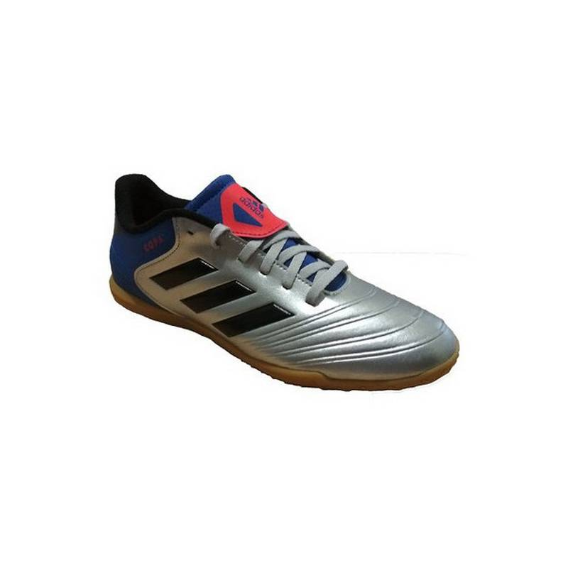 Sneakers Football For Kids Adidas Tango Cup 18.4 IN Junior Blue Gray