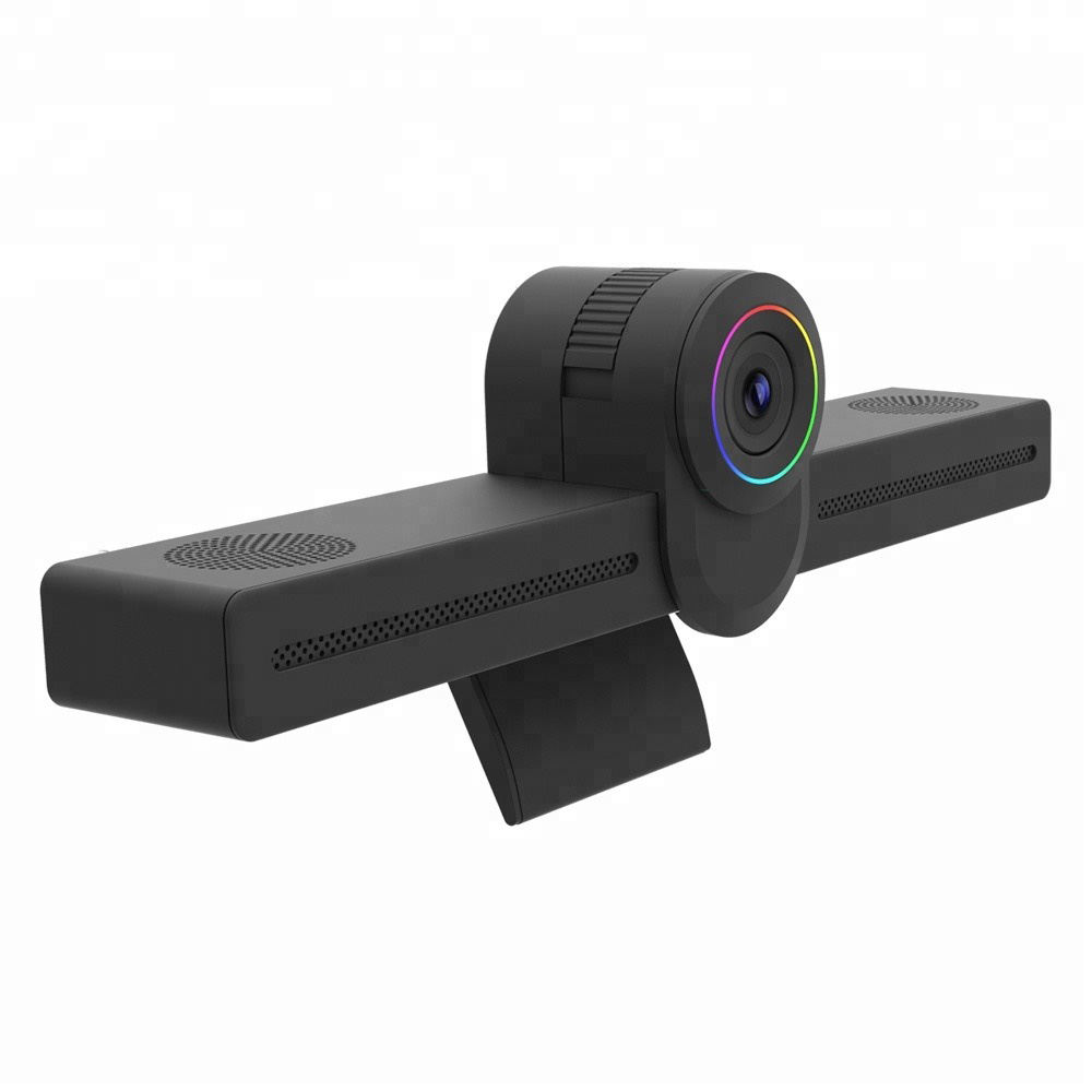 4K Camera Integrated Mounted Android Mini Pc Ideal For ZOOM, Skype, Google Hangouts, QQ, Wechat Video Conferencing Call