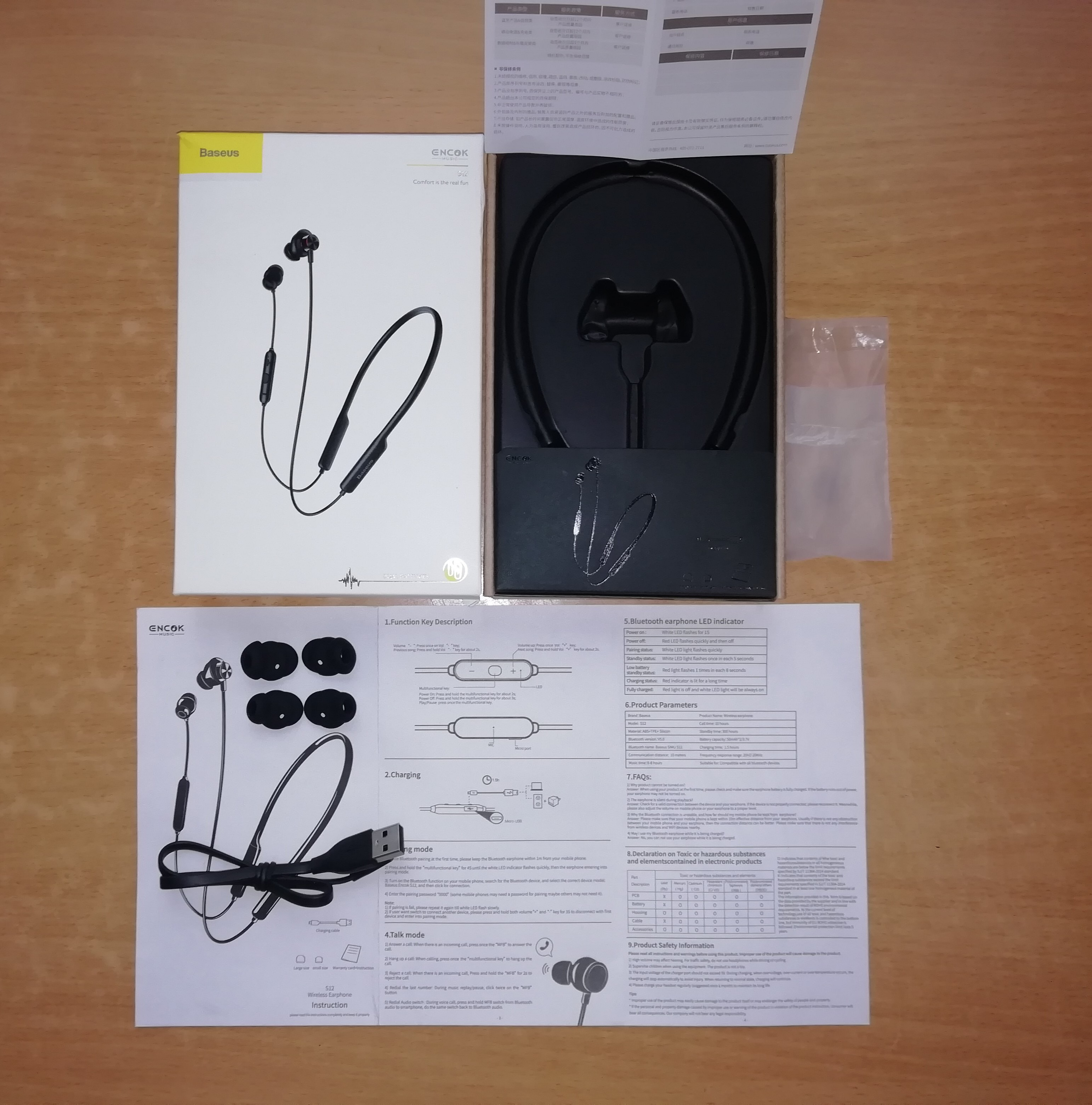 Baseus S12 Wireless Earphone For Phone iPhone Xiaomi Bluetooth 5.0 Headphone Handsfree Wireless Headset Earbud Earpiece With Mic|Bluetooth Earphones & Headphones| |  - AliExpress