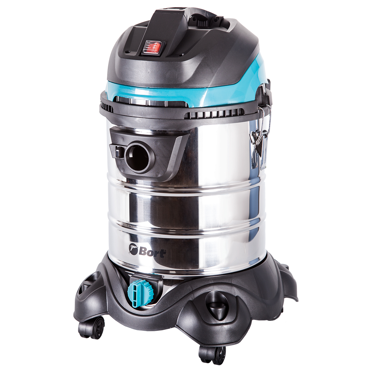 Vacuum cleaner wet and dry cleaning Bort BSS-1425-PowerPlus (Power 1400 W tank 25 l HEPA filter cleaning system phil