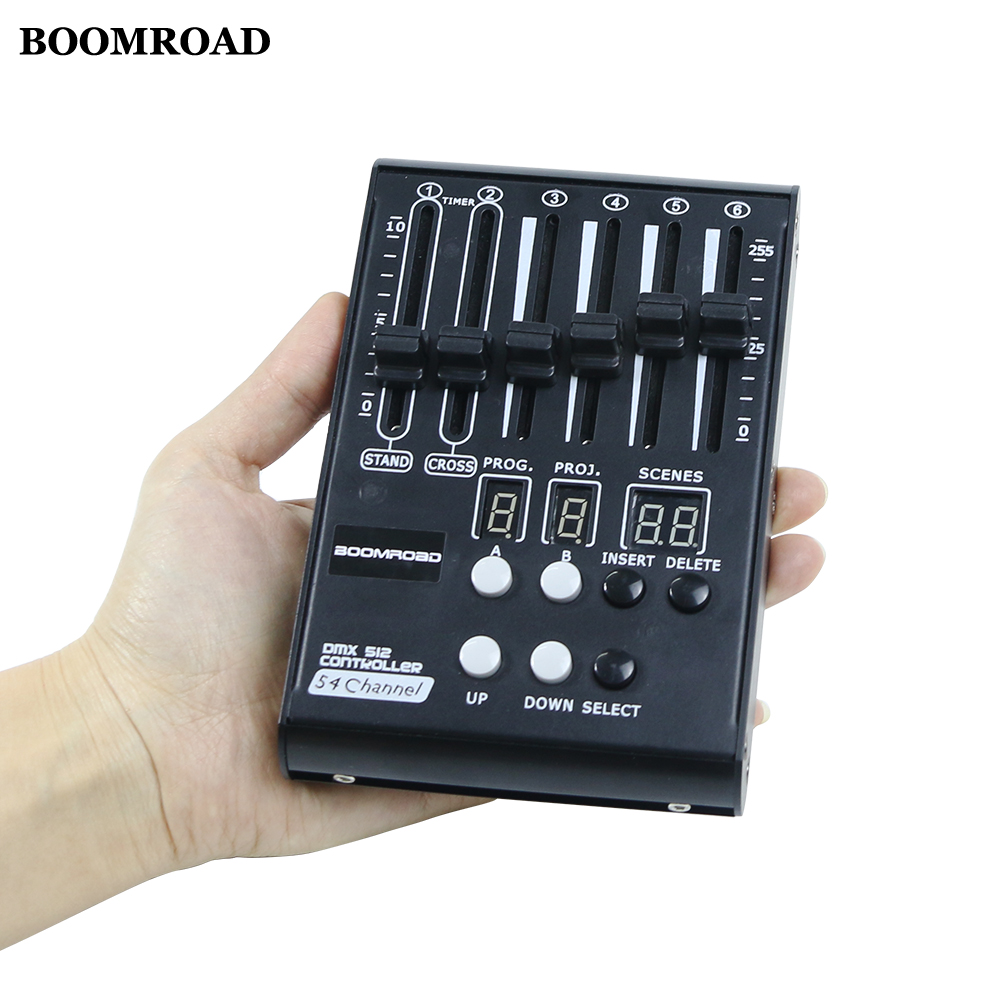 New Mini Stage Lighting Effect DJ Controller Disco Light Dmx Controller Led Stage Light 54ch DJ Console Powered By Power Bank