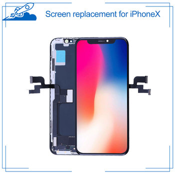 Full Assembly For iPhone X With 3D Touch Digitizer LCD Screen Replacement Display True Tone Supported For iPhoneX GradeAAA