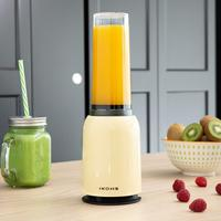 IKOHS MOI SLIM beater with glass Portable Blender with electric mincer 234W pitcher 0,4L beater plastic warranty