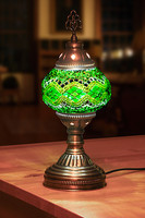 colors Turkish Handmade mosaic table lamps