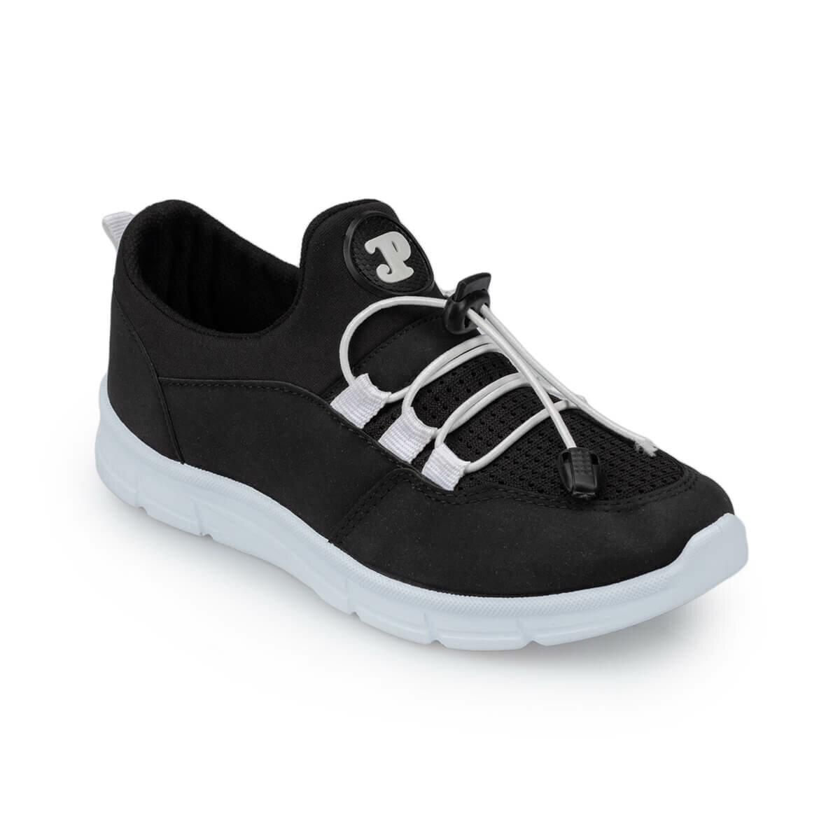 FLO 91.511205.F Black Male Child Hiking Shoes Polaris