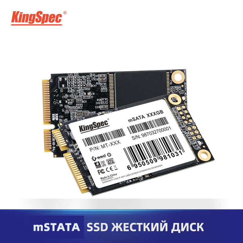 KingSpec mSATA SSD 120 go 256 go 512 go Mini SATA SSD mSATA SSD 1 to disque dur interne pour ordinateur portable SSD pour Dell ThinkPad