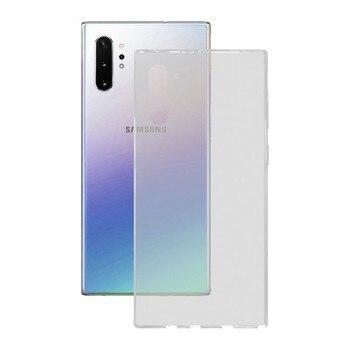 Cep kapağı Samsung Galaxy not 10 Pro KSIX esnek şeffaf