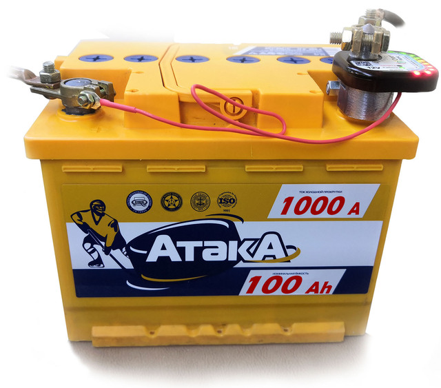 СтопРазряд - устройство защиты АКБ до 110Ач ( CCA до 1000А ) от глубокого и частичного разряда 4