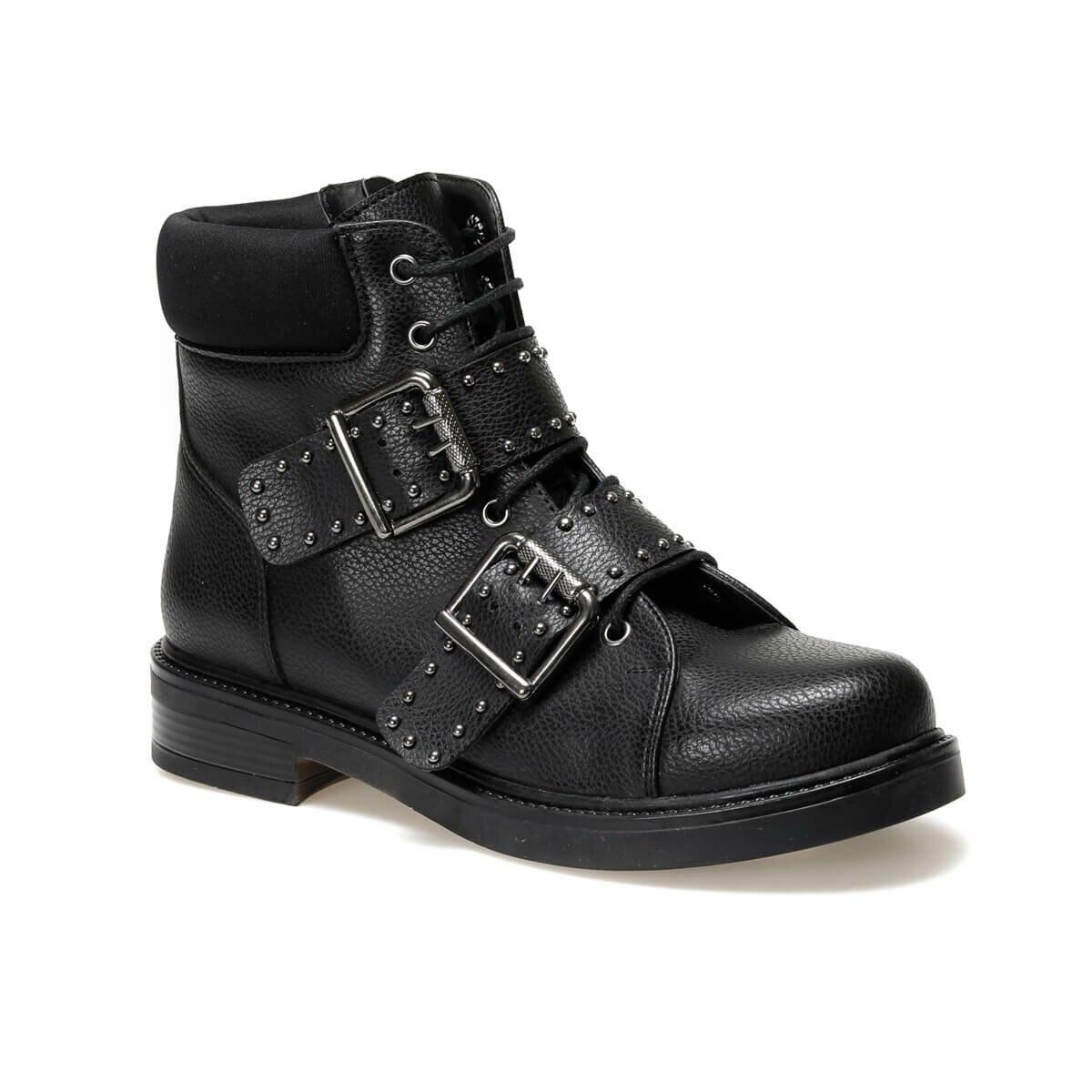 FLO 19K-083 Black Women Boots BUTIGO
