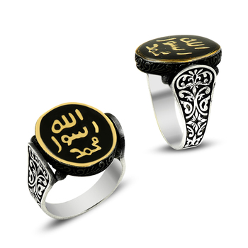 925 Silver Traditional Ottoman Rings for Men