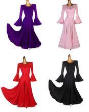 smooth Ballroom Dress Viennese standard ballroom  dress ladies ballroom dress  ballroom dresses ribbon belt mq203