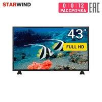 """Tv 43 """"starwind SW LED43BA201 fullhd 4049 inchtv dvb dvb t dvb t2 digital Smart TV     -"""