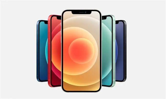 iPhone12五种颜色iPhone12系列手机均支持5G哦!插图