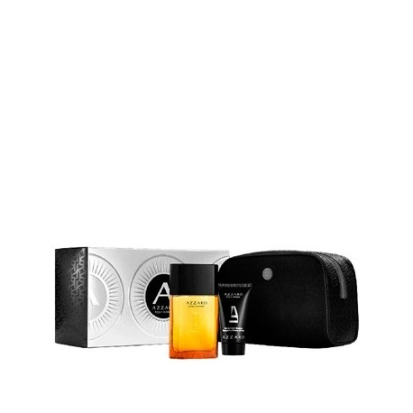 AZZARO HOMME 100ML EDT + SHOWER GEL HAIR AND BODY 100ML + AFTER SHAVE BALM 50ML
