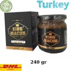 Rey De Macun (afrodisíaco Mesir Maccun hierba de cabra cachonda Honeymix) % 100 Halal turco Viagra 240 gr