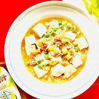 #太太乐鲜鸡汁芝麻香油#鲜鸡汁豆腐的做法图解8