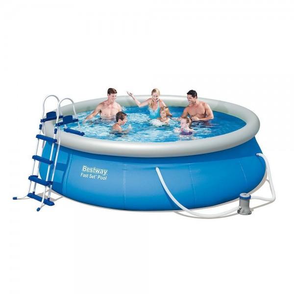 Pool Fast Set Round With Sewage ø 366x91cm.