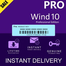 Key Wind-10 3-Minutes-Activation License Instant-Delivery Waist PROFESSIONAL Pro-Global