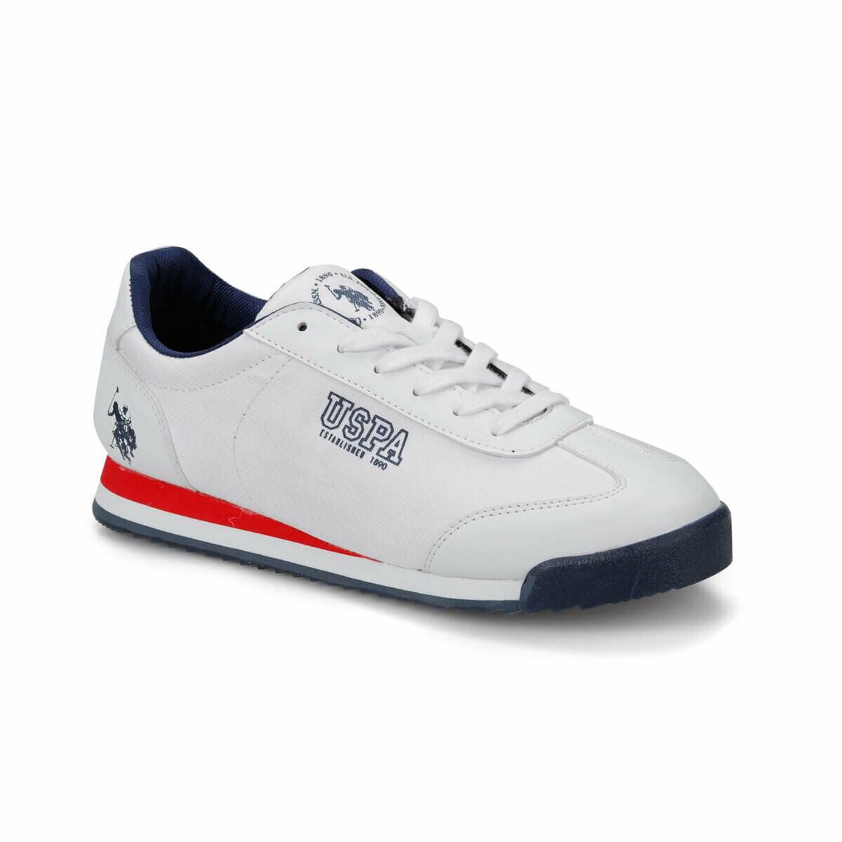 FLO Men Sneaker Sport Casual Fashion White Men's Sport Sneaker Shoes Мужские кроссовки DEEP SUMMER U.S. POLO ASSN.