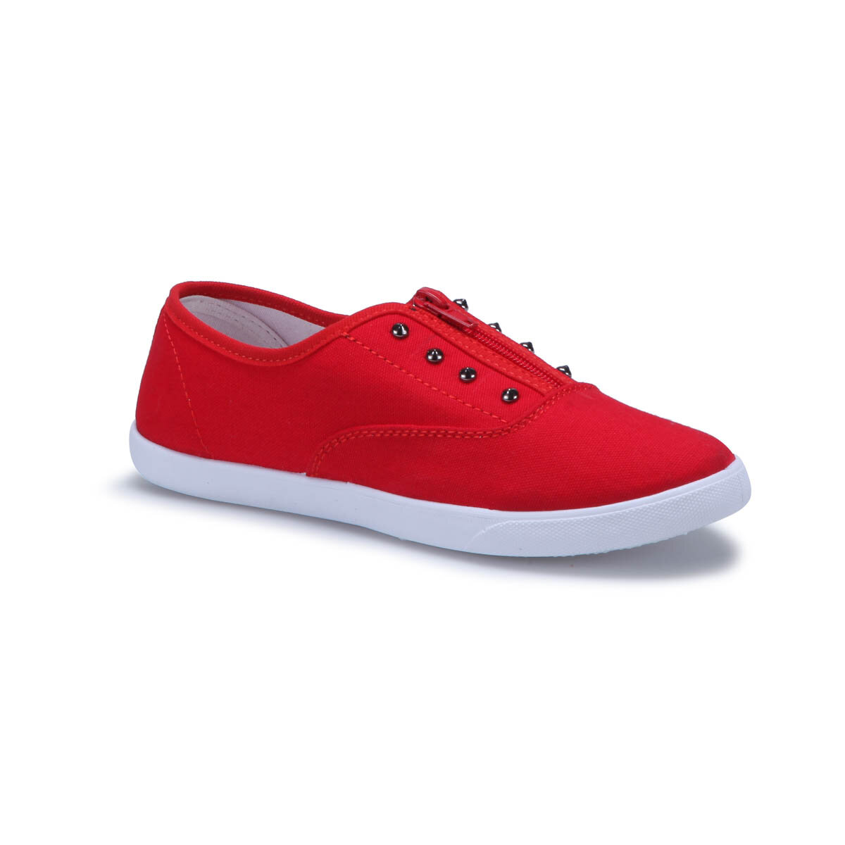 FLO U2300 Red Women Slip On Shoes Carmens