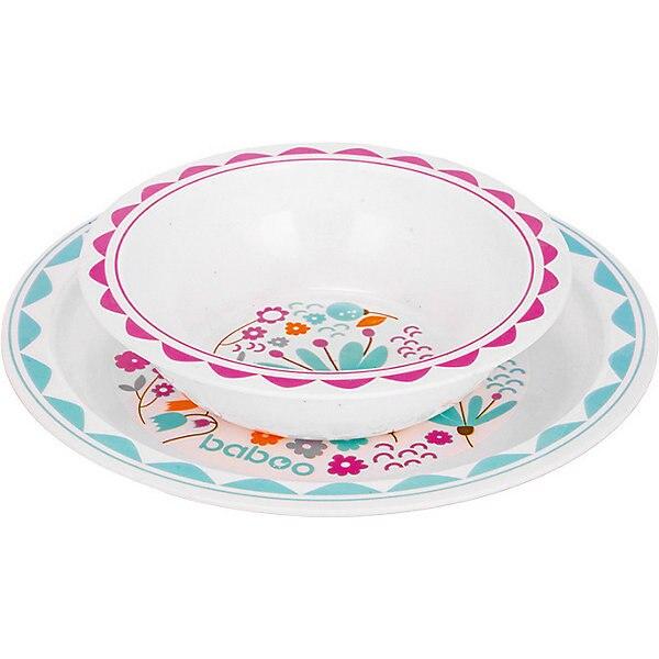 Plate Baboo Flora