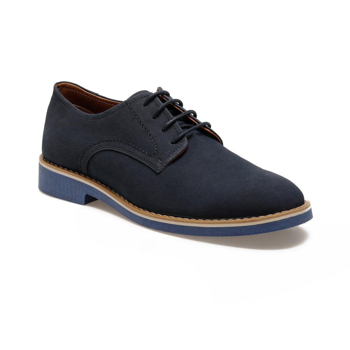 FLO MST-1 Navy Blue Men 'S Dress Shoes JJ-Stiller