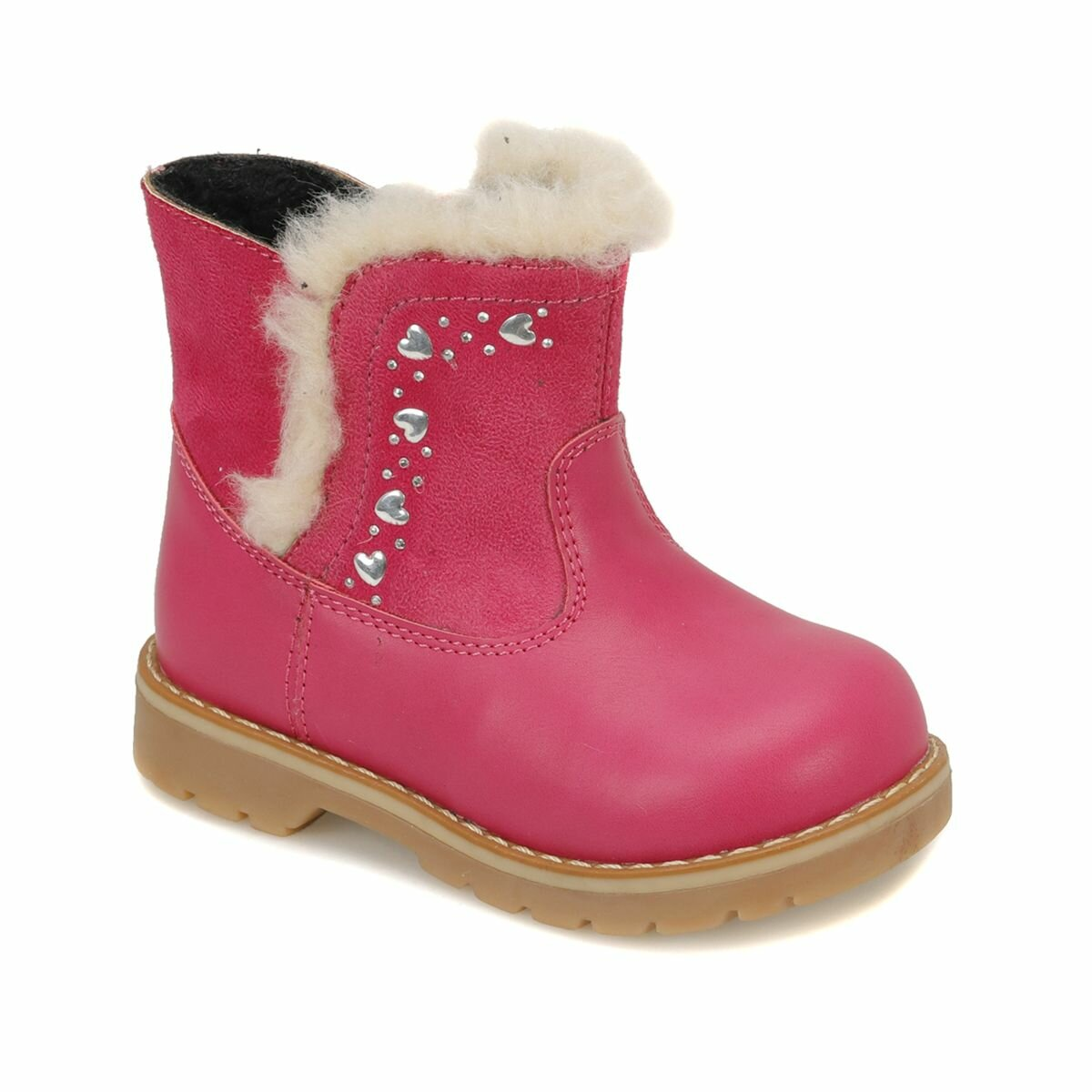 FLO LEONA Fuchsia Girls Children Boots Balloon-s