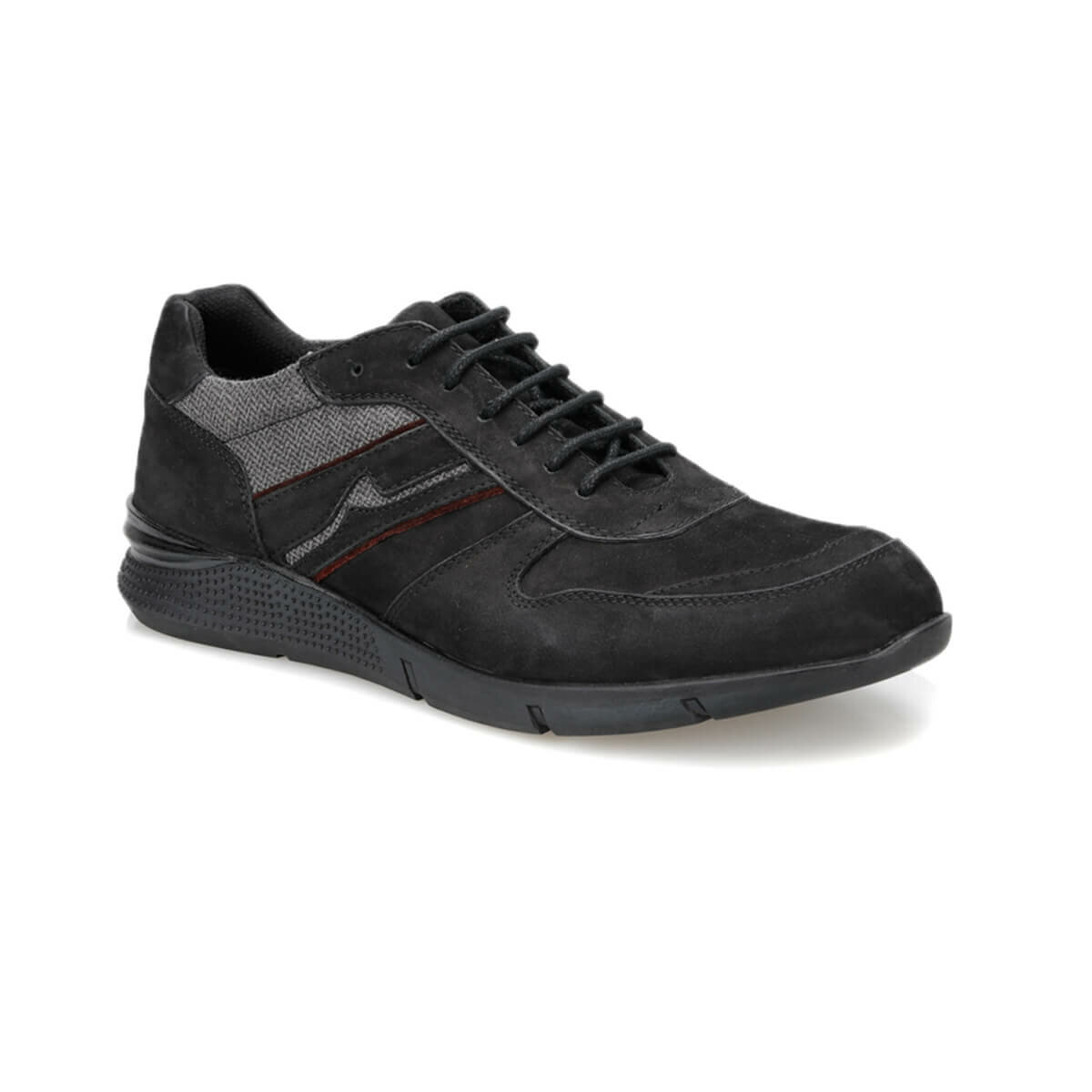 FLO 60968-A Black Male Shoes Forester