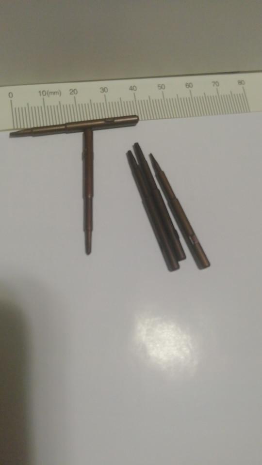 Tournevis de précision 5 en 1 embouts en acier