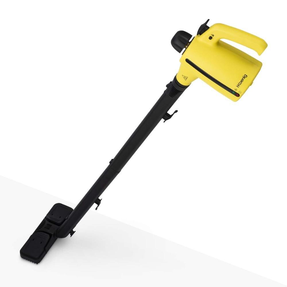 H. koenig NV700 Бесконтактный очиститель паровой метлы и рук 2en1, vaporeta уборки дома 1050 Вт, hasta 138 °C, емкость 350 мл
