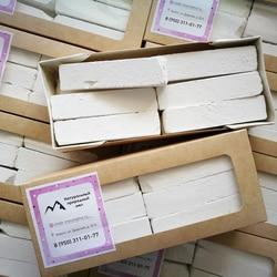 Мамам Натуральный Мел СССР, природный, белый, кусками, мел для еды, мел пищевой. Герметичный пакет 460 г.