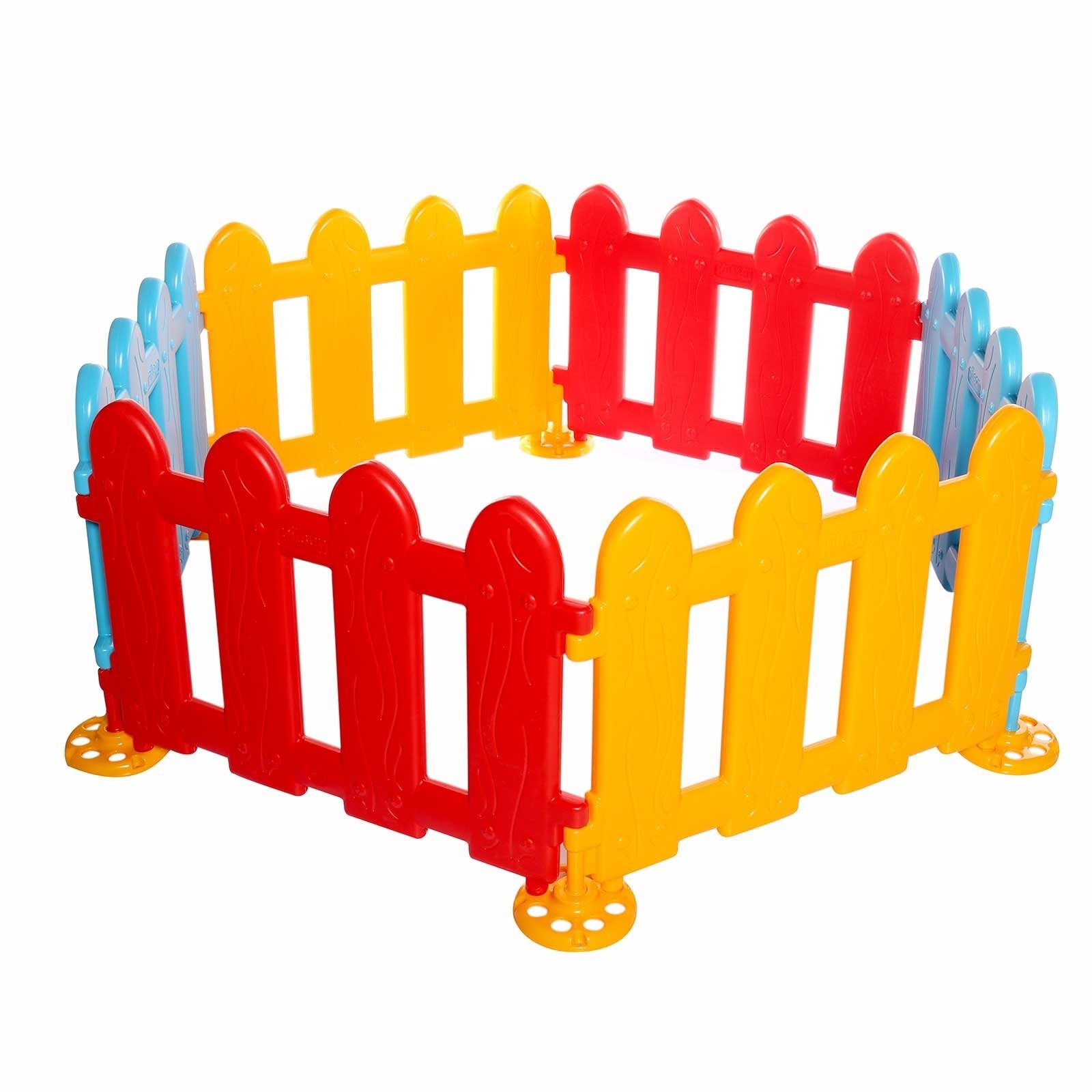 Ebebek Baby&toys Colorful Activity Play Zone Gates
