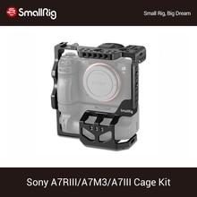 Smallrig A7riii A7iii A7m3 Camera Beschermende Kooi Voor Sony A7RIII A7III A7M3 Met VG C3EM Verticale Batterij Grip Dslr Kooi 2176