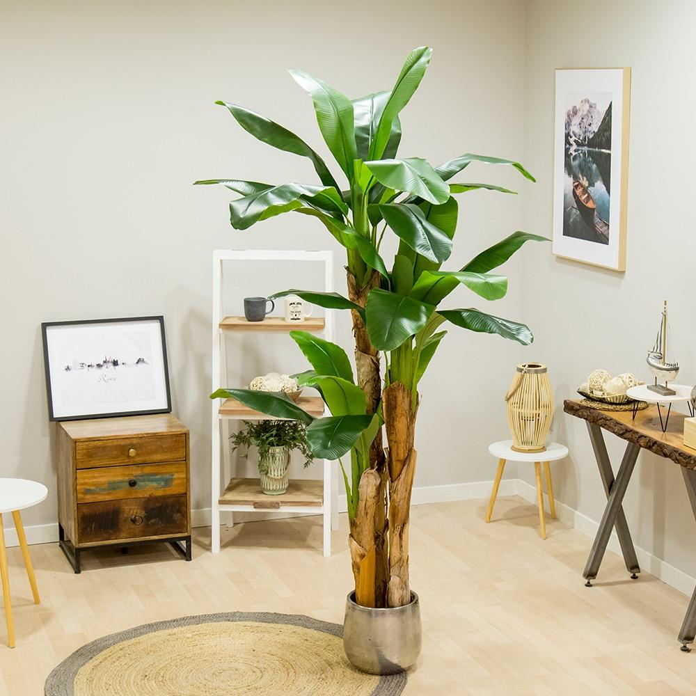 Искусственная банана, изготовлена из лучших материалов, идеально подходит для украшения дома