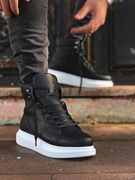 Nax encaje negro solo hombres zapatillas de deporte Zapatos Zapatos casuales de cuero genuino zapatos de las mujeres zapatillas de deporte otoño blanco luz zapatillas plataforma Med talón damas zapato cómodo zapato vulcanizado