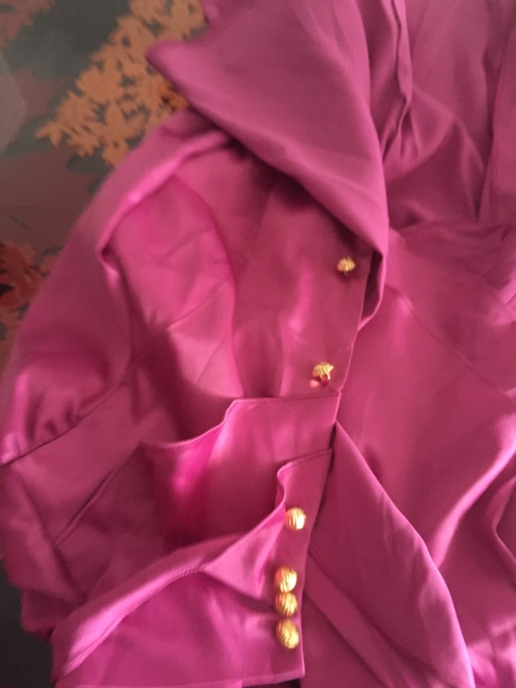 Women Ol Blouse Tops Ruffled Stand Collar Female Chiffon Shirt Autumn New Fashion White Long Sleeve Office Ladies Shirts photo review