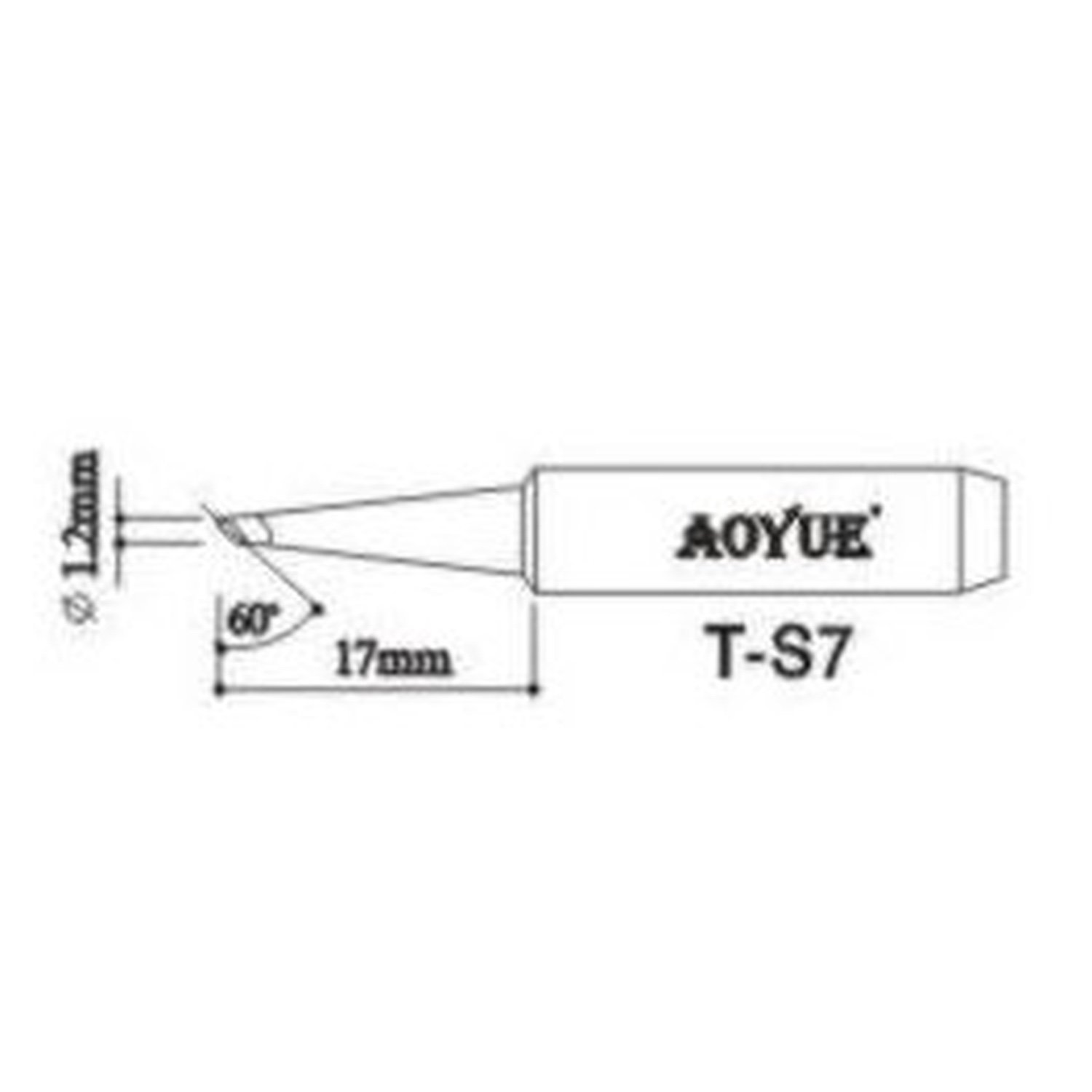 AOYUE TS7 Replacement Welder Tip