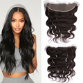 Osolovely Hair 13x4 Hd Lace Frontal Closure Brazilian Body Wave Remy Virgin Human Hair 14-20 Inch