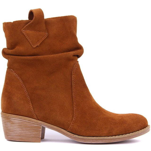 Sail Lakers-Suede Genuine Leather Women's Boots