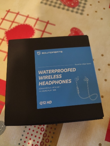 Fones de ouvido Ouvido Soundpeats Magnética